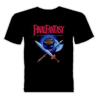 Final Fantasy Nintendo Nes video game t shirt
