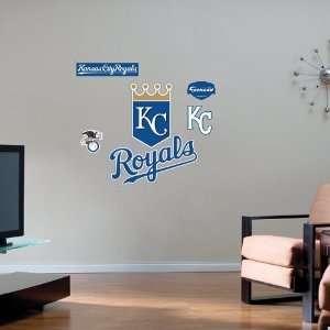 Kansas City Royals Team Logo Fathead Wall Sticker