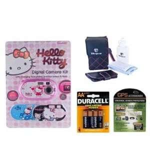 Hello Kitty Digital Camera 92009 Plus Accessory Bundle