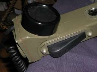 Military Army Field Phone Telephone Set TA 1/PT Vietnam ?