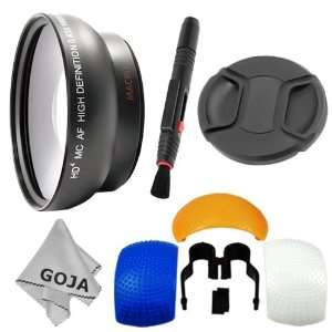 High Definition Lens + Flash Diffuser (Set of 3) + Center Pinch Lens