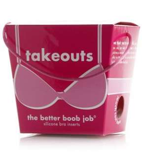 : Commando Takeouts Silicone Gel Breast Enhancers Accessory: Clothing