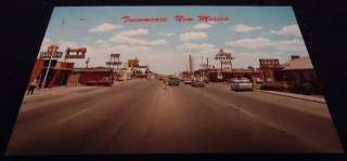 Vintage ROUTE 66 Postcard TUCUMCARI NEW MEXICO NM
