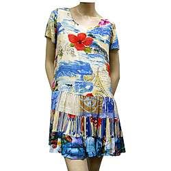 Jams World Womens Hattie Short sleeve Dress