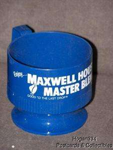 Maxwell House Master Blend Sweetheart Plastic Coffee Cup Holder