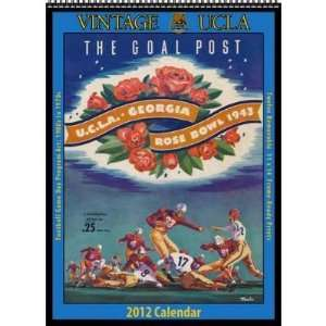 UCLA Bruins 2012 Vintage Football Calendar  Sports