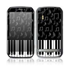 Love Piano Design Protective Skin Decal Sticker for Motorola Photon