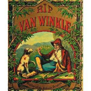 Van Winkle (Replica of the Antique Original) George P. Webster Books
