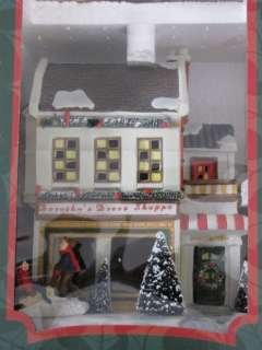 Lighted Dress Shop Village Collectibles December Home Christmas