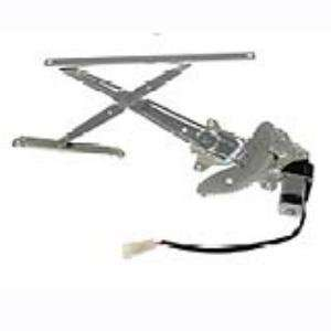 126 Ford Mustang Front Driver Side Power Window Regulator with Motor