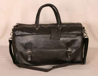 100% Genuine INDIAN Leather new Luggage Travel Tote Bag Duffel Bag