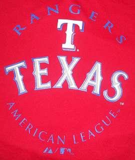 TEXAS RANGERS MLB TEE SHIRT BIG & TALL SIZES NWT