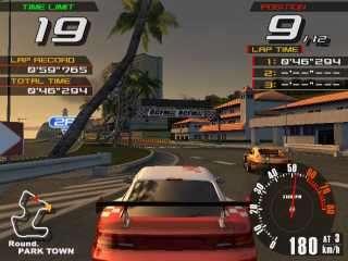RACER V ARCADE BATTLE (DOUBLE SIT DOWN DRIVER ARCADE GAME)