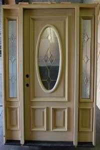 Front Entry Knotty Alder Wood Door 42x80 W 14 Half Lites