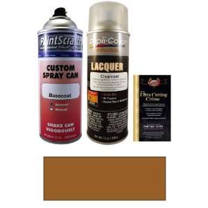12.5 Oz. Mocha Dark Brown Metallic Spray Can Paint Kit for