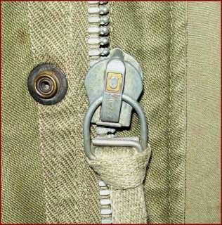 VTG M 51 US ARMY KOREAN WAR SATEEN MILITARY FIELD JACKET COAT EARLY