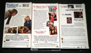 WHOOPI GOLDBERG 3 VHS MOVIE SET Bogus, Made In America, & The