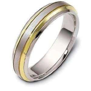 18 Karat Gold Comfort Fit Wedding Band Ring   10 Dora Rings Jewelry