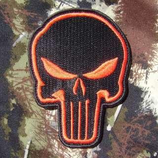PUNISHER SKULL TERMINATOR ARMY MORALE MILSPEC SWAT SPECIAL BLACK OP
