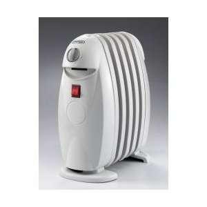 DeLonghi 500W Bambino Oil Filled Radiator White TRN0505M