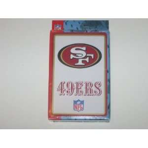 SAN FRANCISCO 49ERS Logo Deck Of Playing Cards 52 Cards