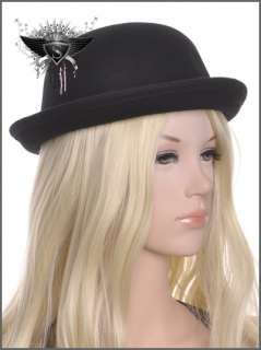 Ceremonial Fashion Lady Formal Hat Cap Enchanting Party Costume New
