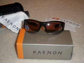 NEW Box KAENON HARD KORE Polarized Sunglasses Tobacco Brown Copper C28
