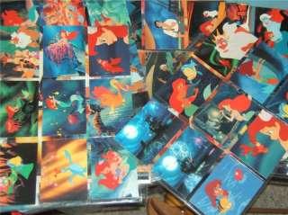 The Little Mermaid Disney Card 1991 Pro Set PLUS