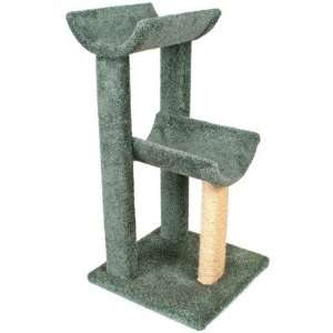 38 Small Kitty Cat Tree Color Green