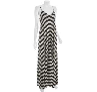 Wyatt stripe jersey maxi dress