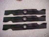 Fits CUB CADET 50 RZT series mower blades 742 04053A