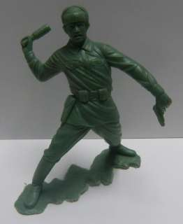 1963 Marx Army Men Grenade Thrower Soldier Marx Toys 6 Inch Action
