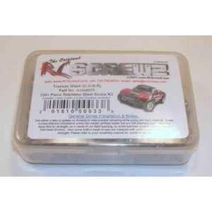 Slash 2WD Stainless Steel Screw Set 130+ Pcs RCZTRA033