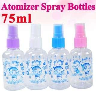Top Plastic Perfumer Atomizer Spray Bottles Empty Pump #6939