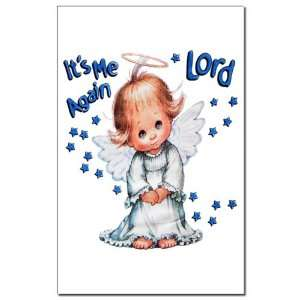 Mini Poster Print Its Me Again Lord Prayer Angel