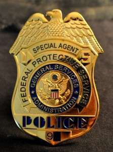 FEDERAL PROTECTIVE SERVICES US POLICE BADGE  SEE STORE FOR BADGES