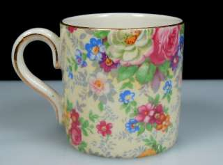 Vintage Lord Nelson Ware Chintz ROSE TIME Demi Cup