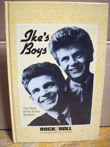 Ikes Boys Story of Everly Brothers HC Book Music LN