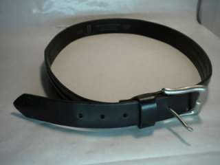 BELT~LEVIS~BLACK~GENUINE~LEATHER~LG~NICE~BUCKLE~NICE
