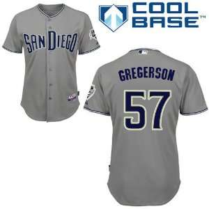 San Diego Padres Authentic Road Cool Base Jersey By Majestic Sports