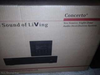 NuVo Grand Concerto Whole House Audio System Home Stereo System 8 Zone