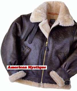 Calafate Aviation U.S. Army Air Forces B 3 Shearling Flight Bomber