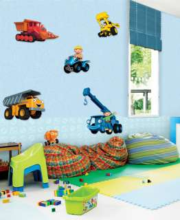 Blonder home accents wallpaper on popscreen for Bob the builder wall mural