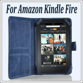 Leather Skin Flip Case Cover for  Kindle 3 Kindle Fire