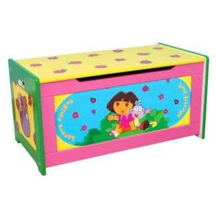 Nickelodeon Dora the Explorer Toy Box  Delta Childrens Baby Furniture
