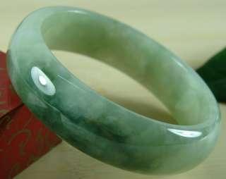 Perfect Scattered Flower Green A Jade Jadeite Bangle Bracelet B 132 2