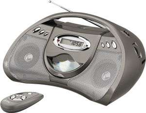 GPX PORTABLE CD PLAYER with RADIO, # BCD2306DP