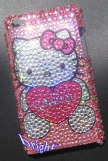 Hello Kitty Bling Diamond Case For iPod Touch 4G 4th