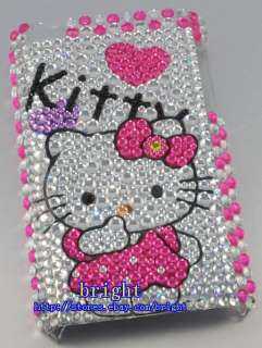 New Hello kitty Bling Case Cover For iPod Touch 4 4G #7