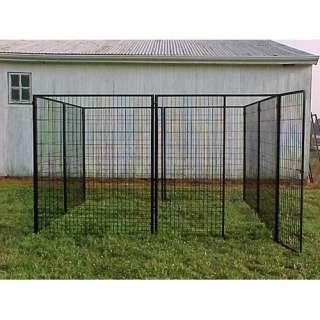 Options Plus Commercial Grade Welded Wire Heavy Duty Kennel Dogs